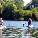 New Experiences paddleboarding